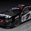 NASCAR police car