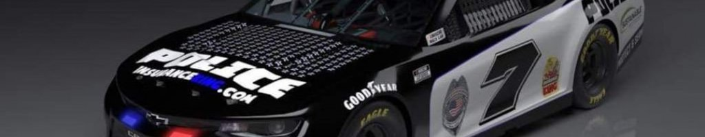 NASCAR police car wrap to run at Martinsville Speedway