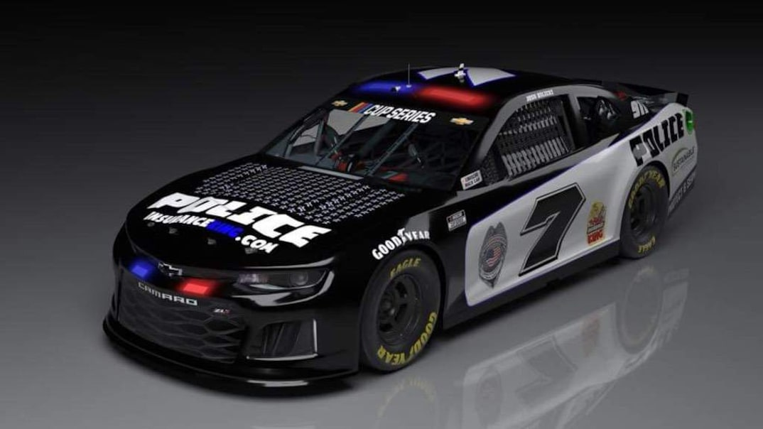 NASCAR police car wrap to run at Martinsville Speedway - Racing News