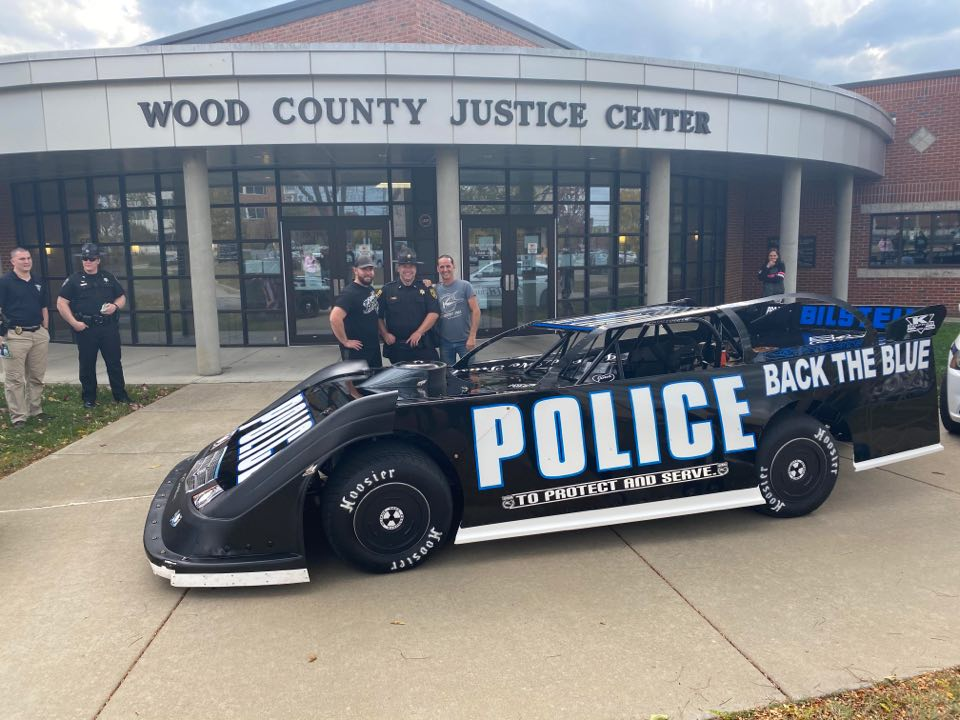 Parkersburg Police Department - Back the Blue - Police race car
