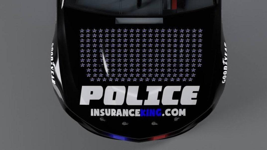Police - NASCAR race car