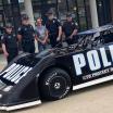 Police race car - Parkersburg WV - Dirt Late Model