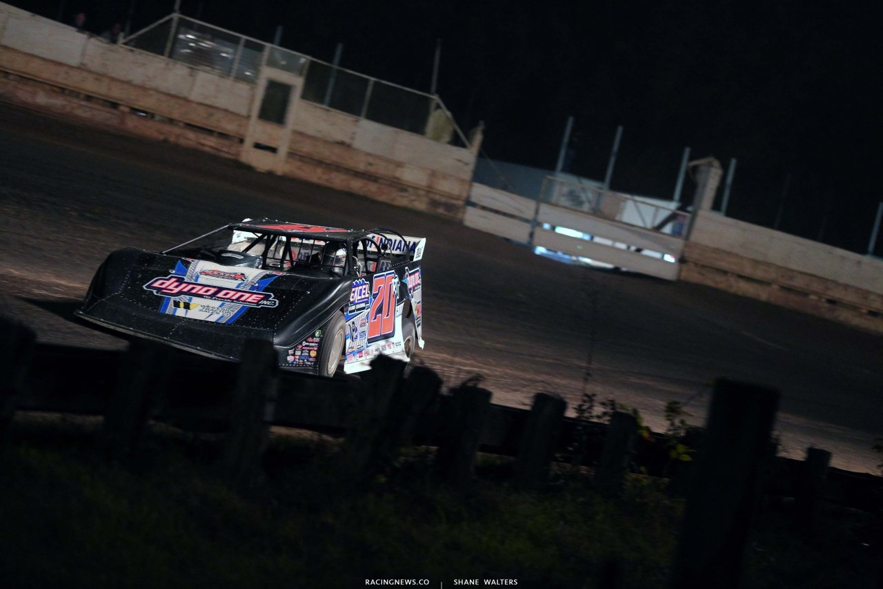 Ricky Thornton Jr at PA Motor Speedway - LOLMDS 5116
