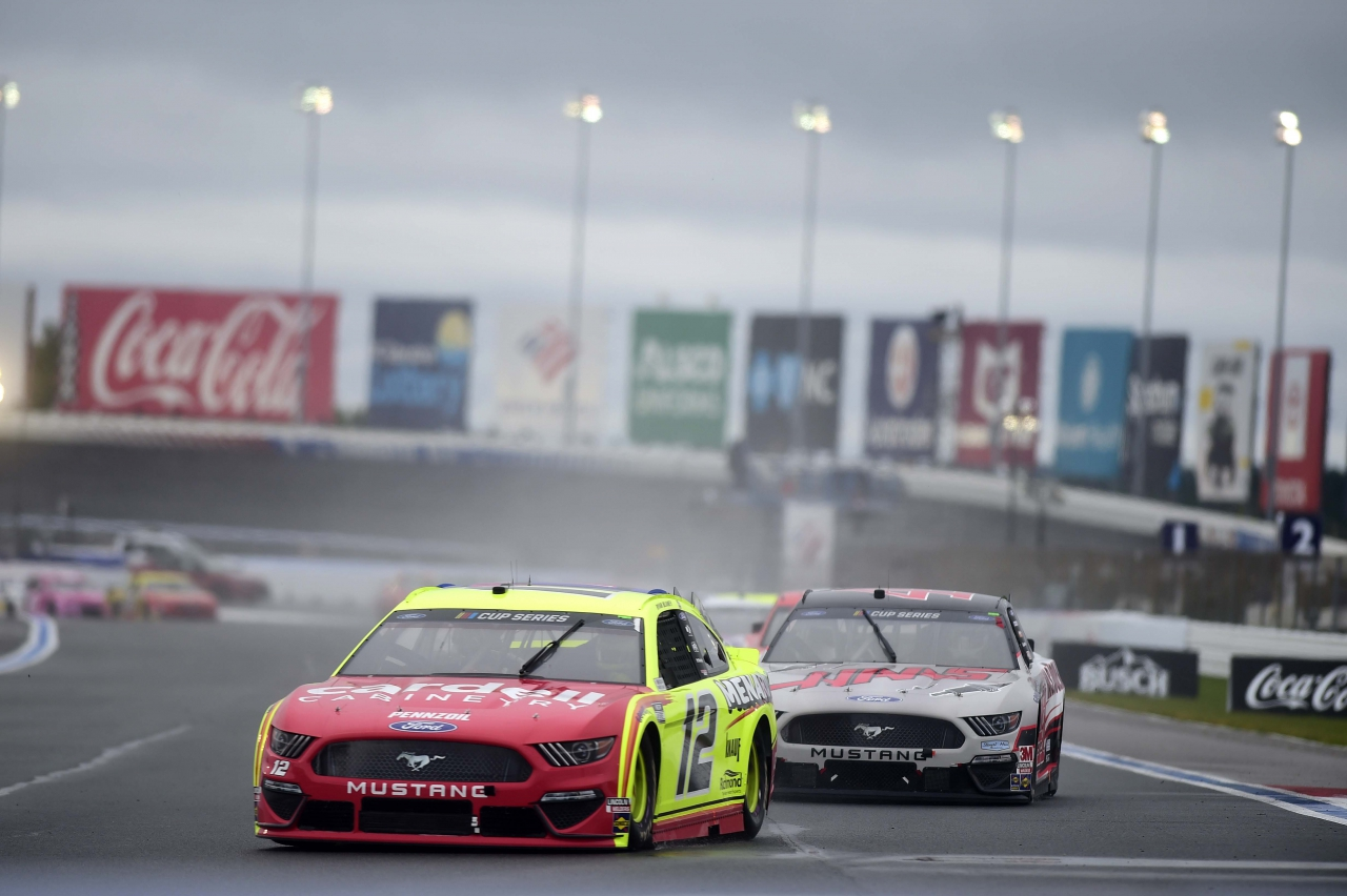 Ryan Blaney - Rain Racing - Charlotte Roval - NASCAR Cup Series