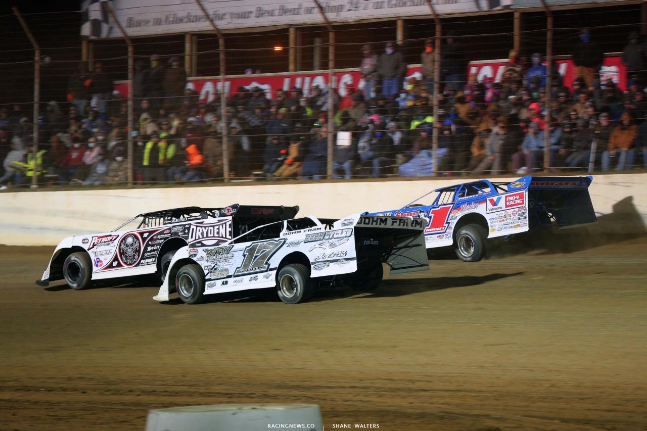 Scott Bloomquist - Zack Dohm and Brandon Sheppard - Dirt Track Racing - DTWC 5498