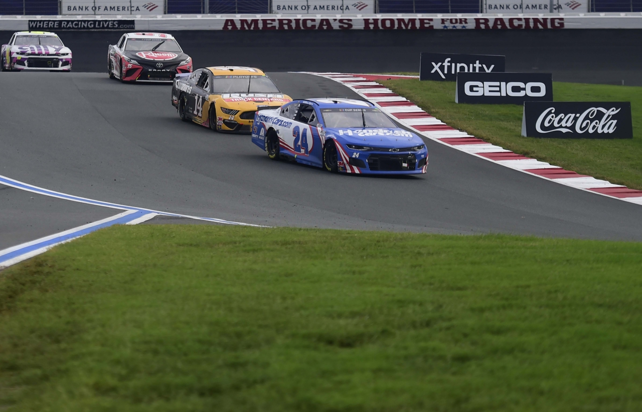 William Byron, Clint Bowyer - Charlotte Roval - NASCAR Cup Series