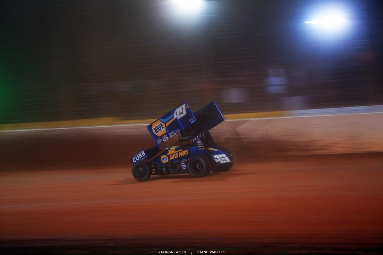 Brad Sweet - Dirt Track at Charlotte - World of Outlaws Sprint Car Series 6854