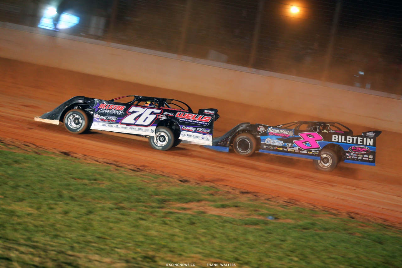 Brandon Overton and Kyle Strickler - Last Call- The Dirt Track at Charlotte - World of Outlaws Late Models 6050