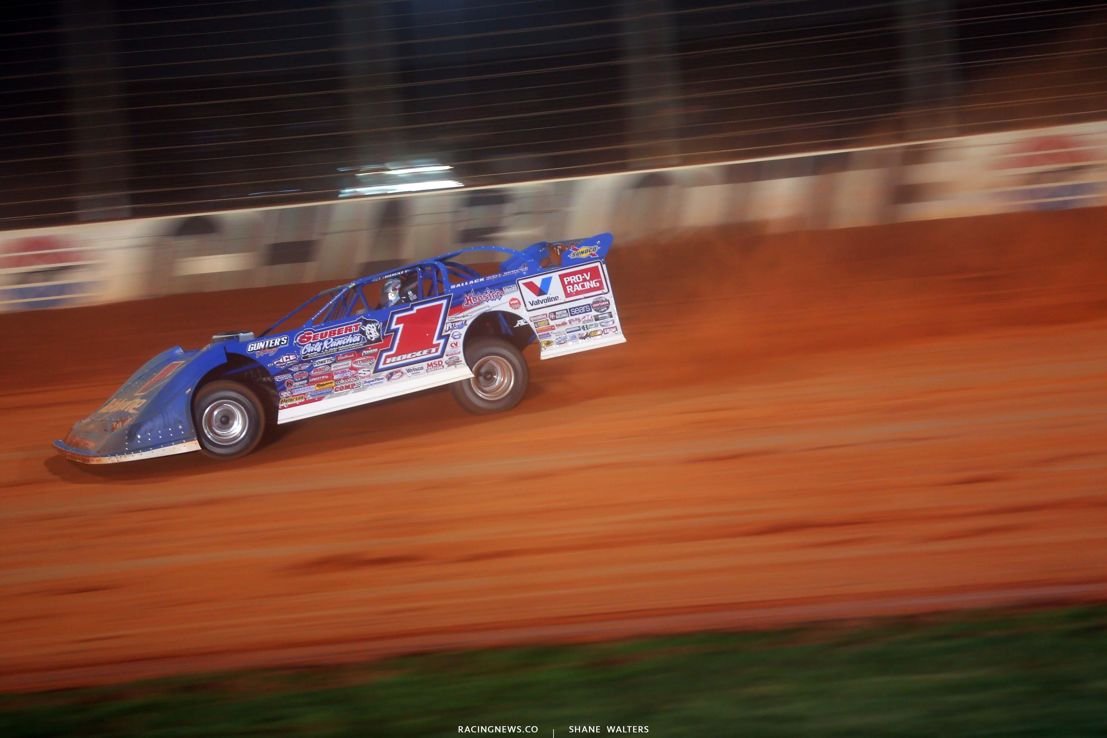 Brandon Sheppard - The Dirt Track at Charlotte - Dirt Track Racing 6238