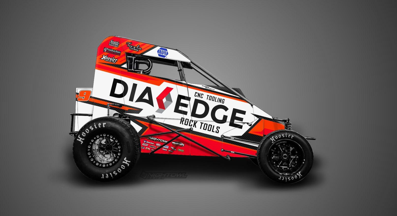 Chase Elliott - Dirt Sprint Car