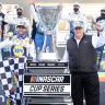 Chase Elliott and Rick Hendrick - NASCAR