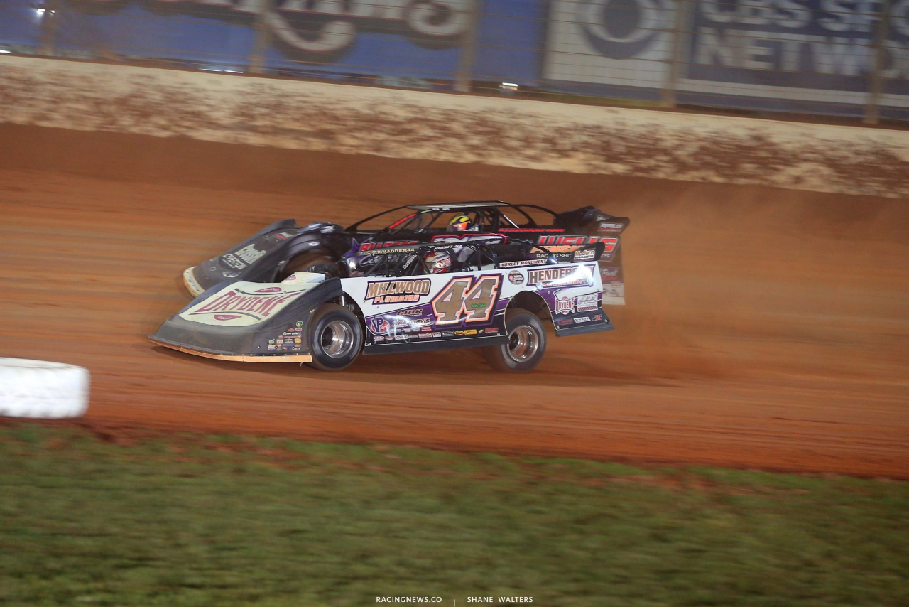 Chris Madden and Brandon Overton - The Dirt Track at Charlotte - World of Outlaws Late Model Series - Dirt Late Models 6556