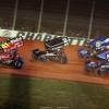 David Gravel, Carson Macedo, Brad Sweet and Sheldon Haudenschild - Dirt Track at Charlotte - World of Outlaws Sprint Car Series 6747