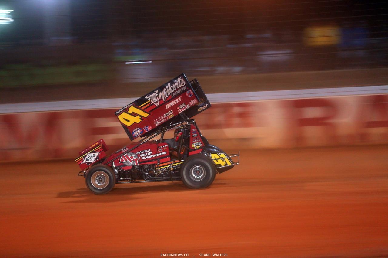 David Gravel - Dirt Track at Charlotte - Sprint Car Racing 6846