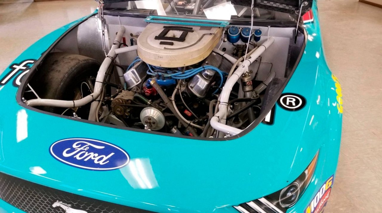 Ford NASCAR auction - David Ragan