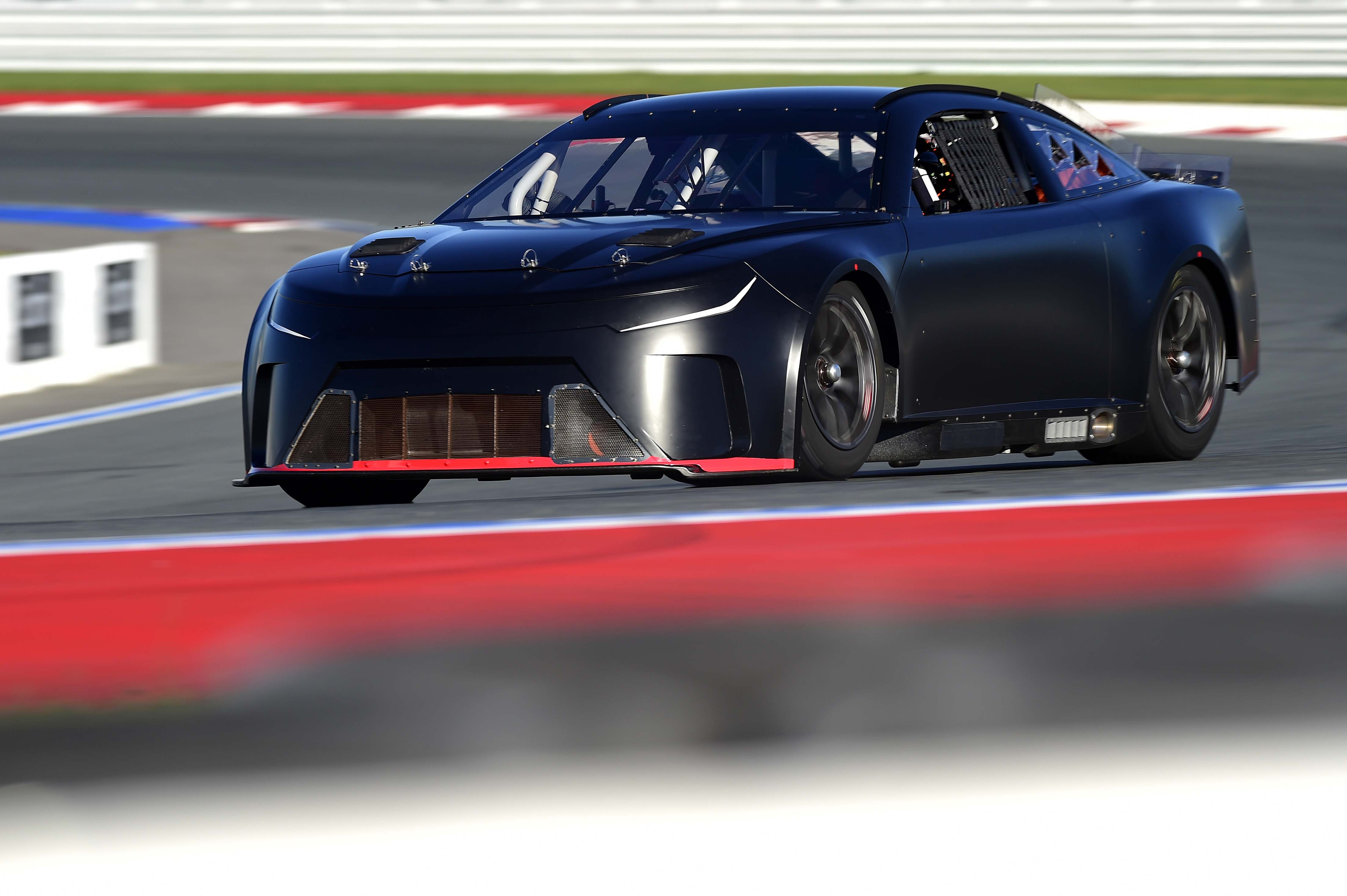 Front nose of the NASCAR Next Gen car photo - Charlotte Motor Speedway ROVAL