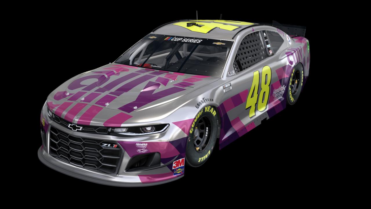 Jimmie Johnson - Silver paint scheme -Phoenix Raceway