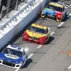 Joey Logano, Kyle Busch and Chase Elliott at Martinsville Speedway - NASCAR Cup Series