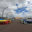Joey Logano and Chase Elliott - NASCAR Cup Series at Phoenix Raceway - Championship