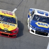 Joey Logano and Chase Elliott at Martinsville Speedway - NASCAR Cup Series