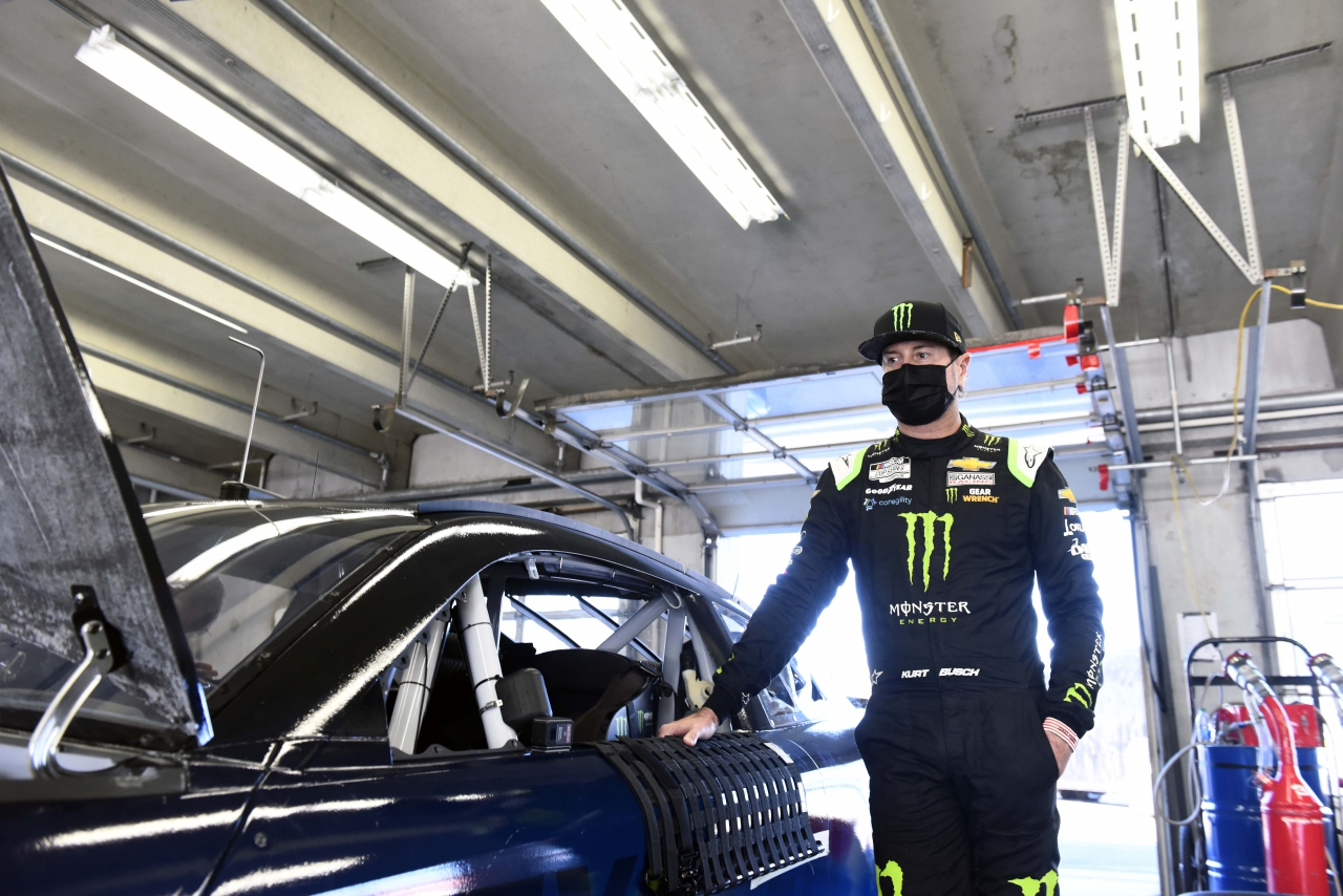Kurt Busch - NASCAR Next Gen chassis