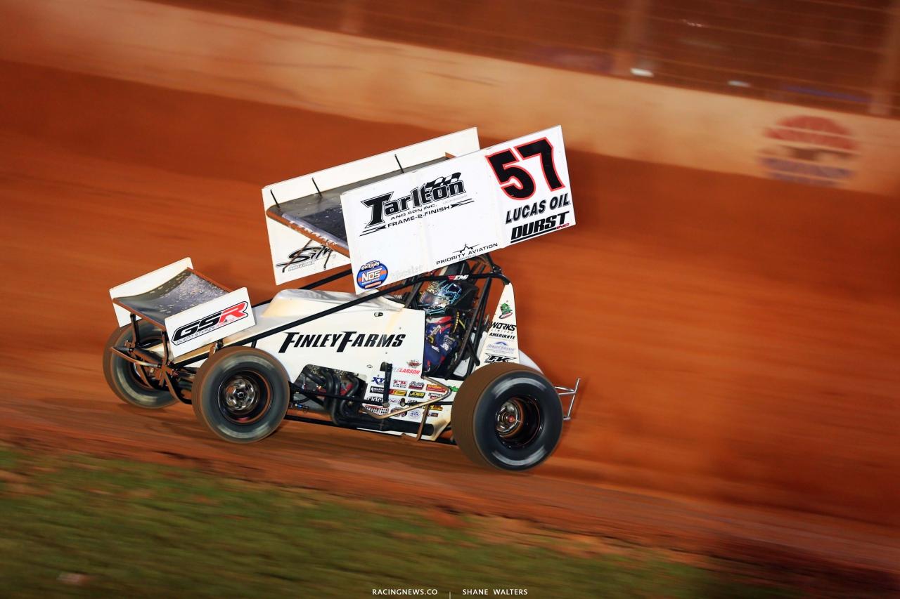 Kyle Larson - Dirt Track at Charlotte - Dirt Sprint Car Racing 6735