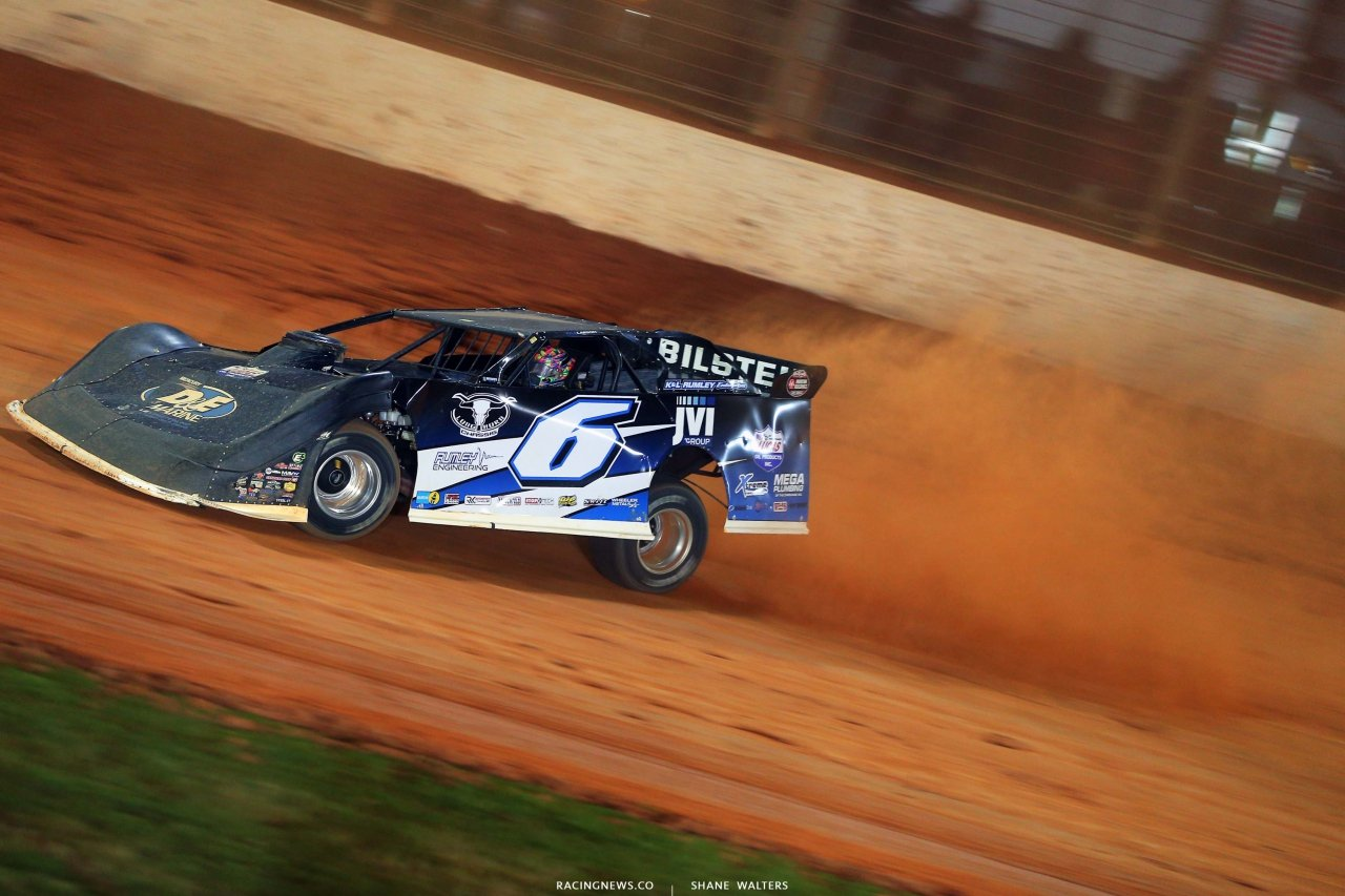 Kyle Larson - The Dirt Track at Charlotte - World of Outlaws Late Model Series - Dirt Late Model Racing 6604