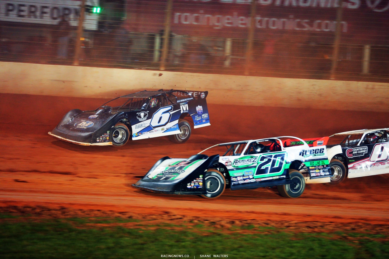 Kyle Larson and Jimmy Owens - Last Call- The Dirt Track at Charlotte - World of Outlaws Late Models 5975