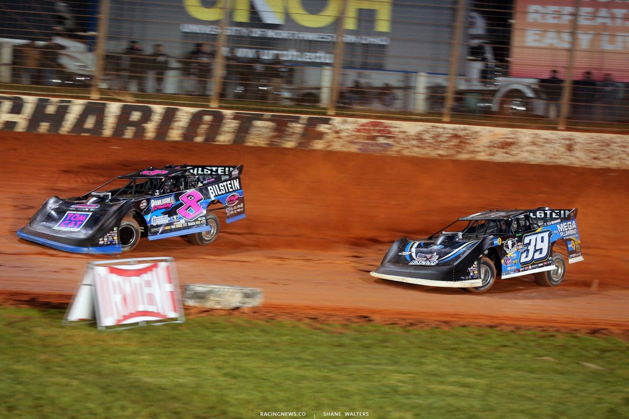 Kyle Strickler and Tim McCreadie - Last Call- The Dirt Track at Charlotte - World of Outlaws Late Models 5956