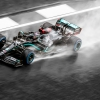 Lewis Hamilton in the rain - F1