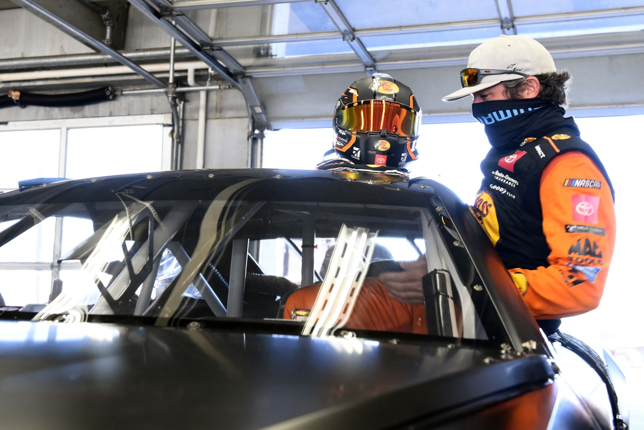 Martin Truex Jr - NASCAR Next Gen chassis