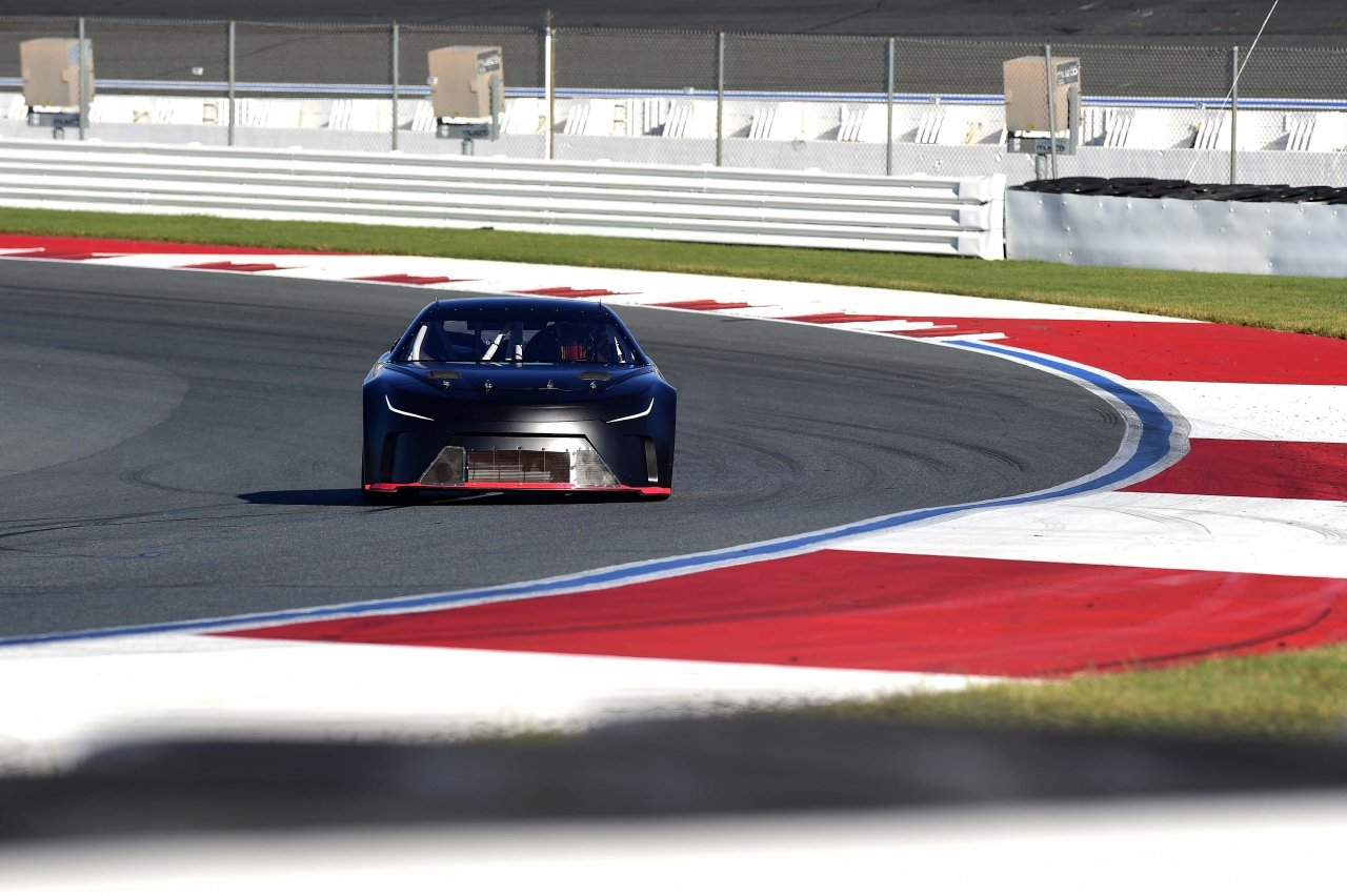 NASCAR Next Gen car pictures - Charlotte Motor Speedway ROVAL