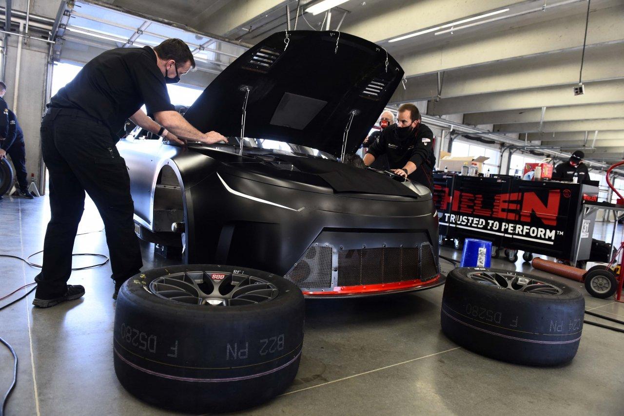 NASCAR Next Gen chassis - Garage photo