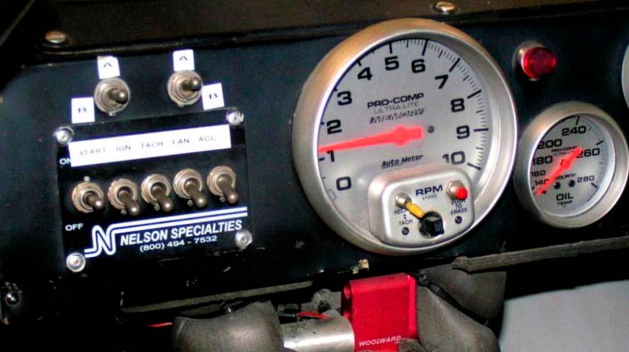 NASCAR gauges - DEI