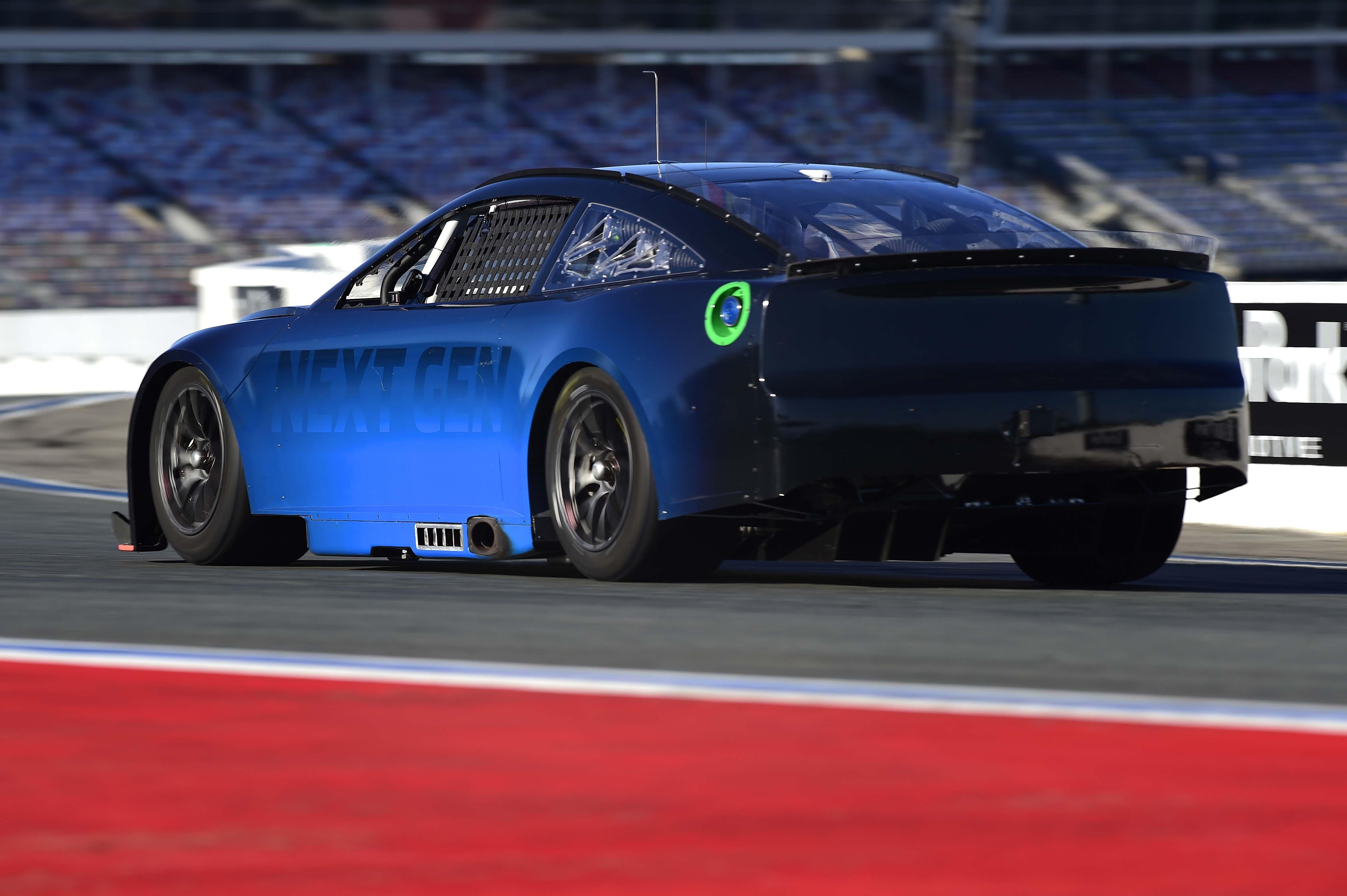 NASCAR next Gen chassis photos