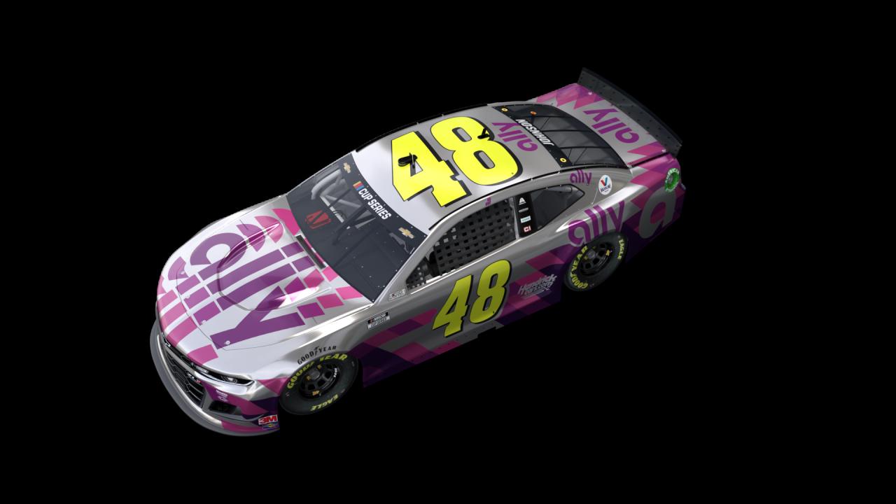 Phoenix Raceway - Last race paint scheme for Jimmie Johnson