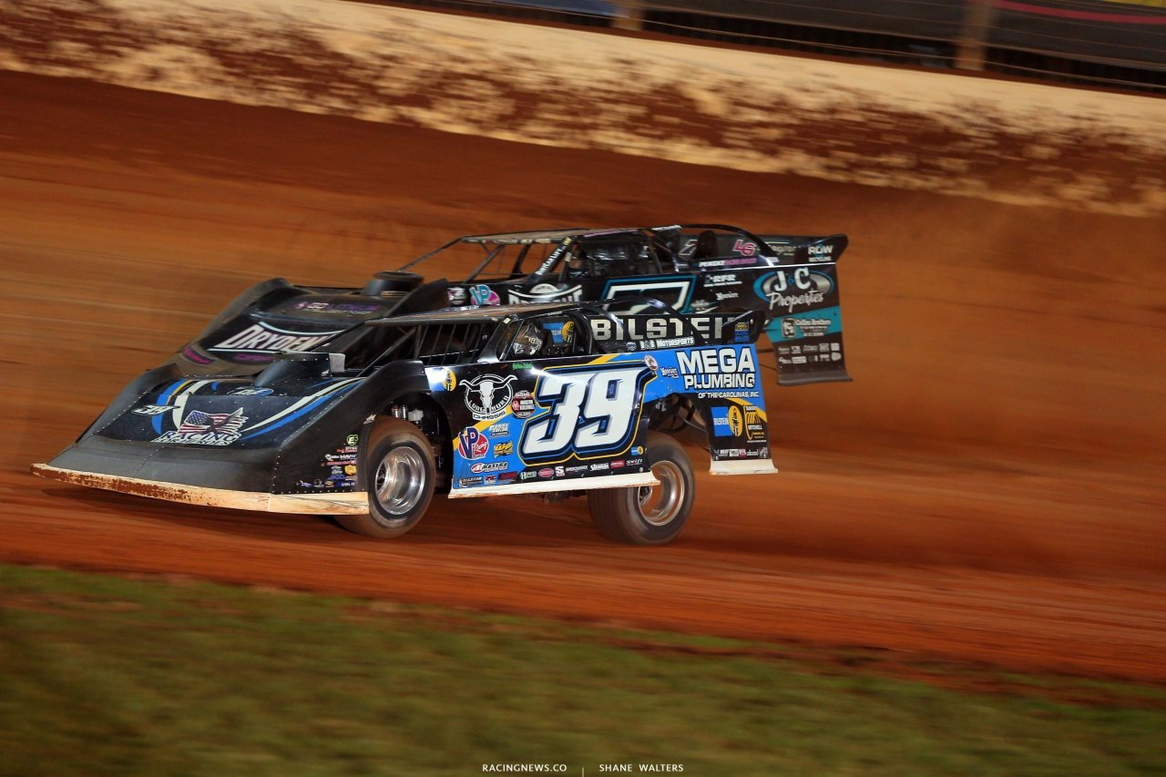 Ricky Weiss, Tim McCreadie - The Dirt Track at Charlotte - World of Outlaws Late Model Series - Dirt Track Racing 6568