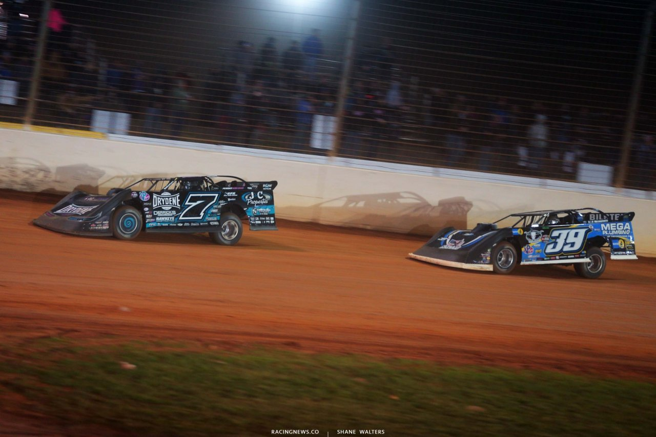 Ricky Weiss, Tim McCreadie - The Dirt Track at Charlotte - World of Outlaws Late Model Series - Last Call 6538