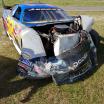 Rusty Wallace Racing Experience crash