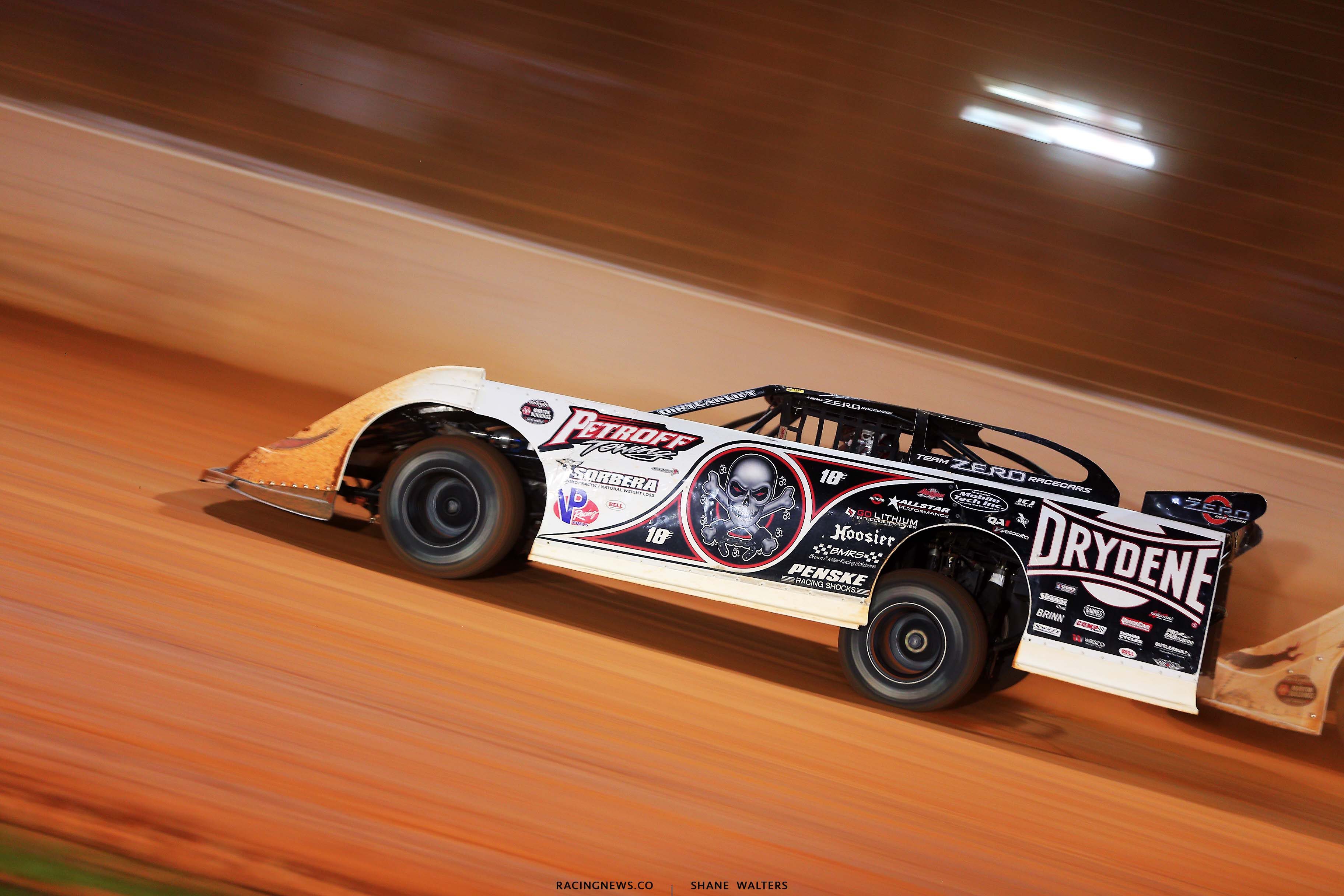Scott Bloomquist - The Dirt Track at Charlotte - World of Outlaws Late Model Series - Last Call 6473