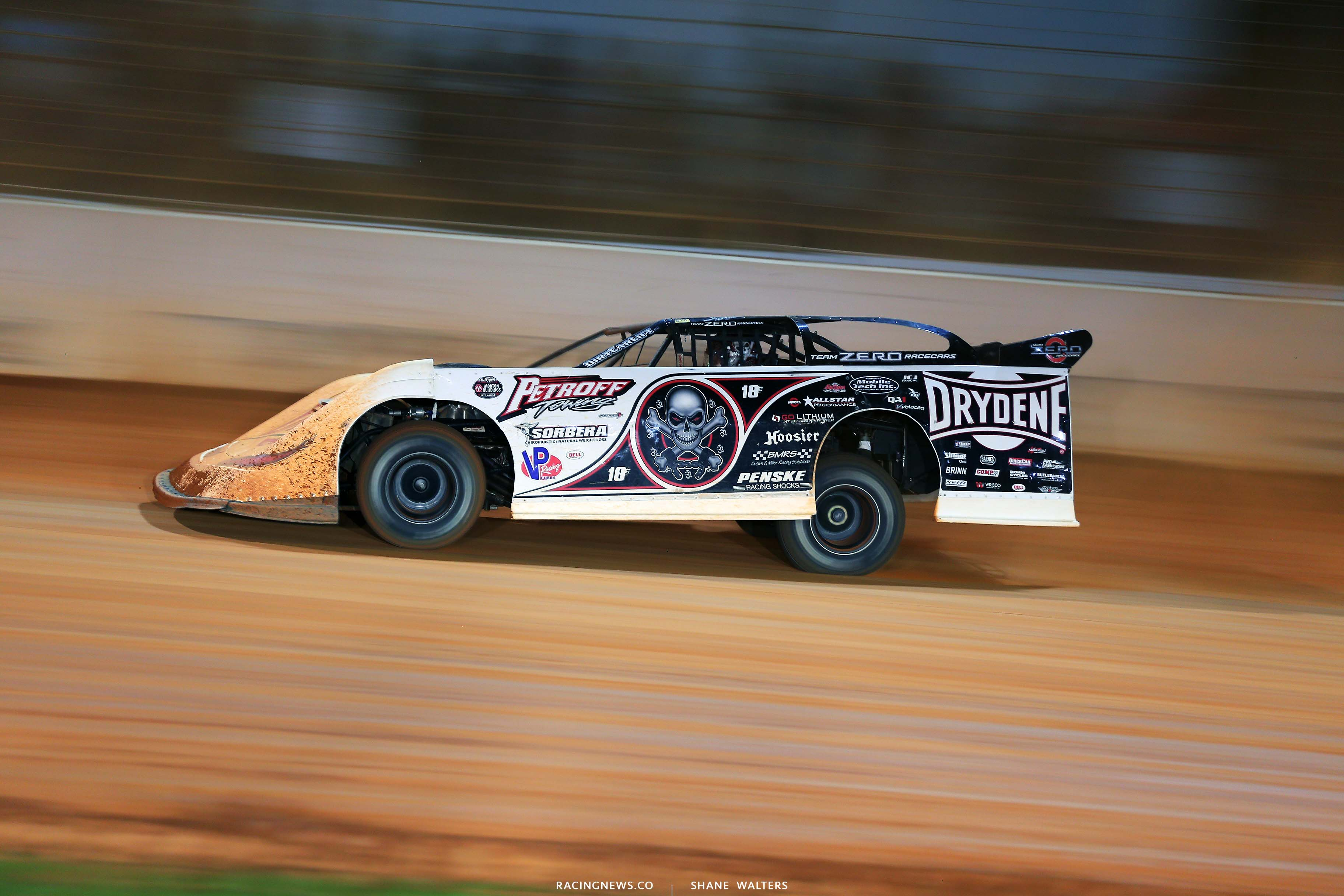 Scott Bloomquist - The Dirt Track at Charlotte - World of Outlaws Late Model Series - Last Call 6524