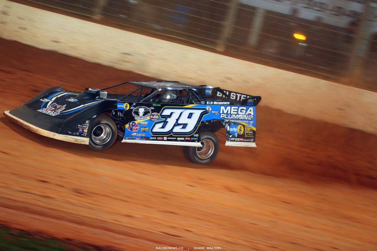 Tim McCreadie - The Dirt Track at Charlotte - World of Outlaws Late Model Series - Dirt Track Racing 6597