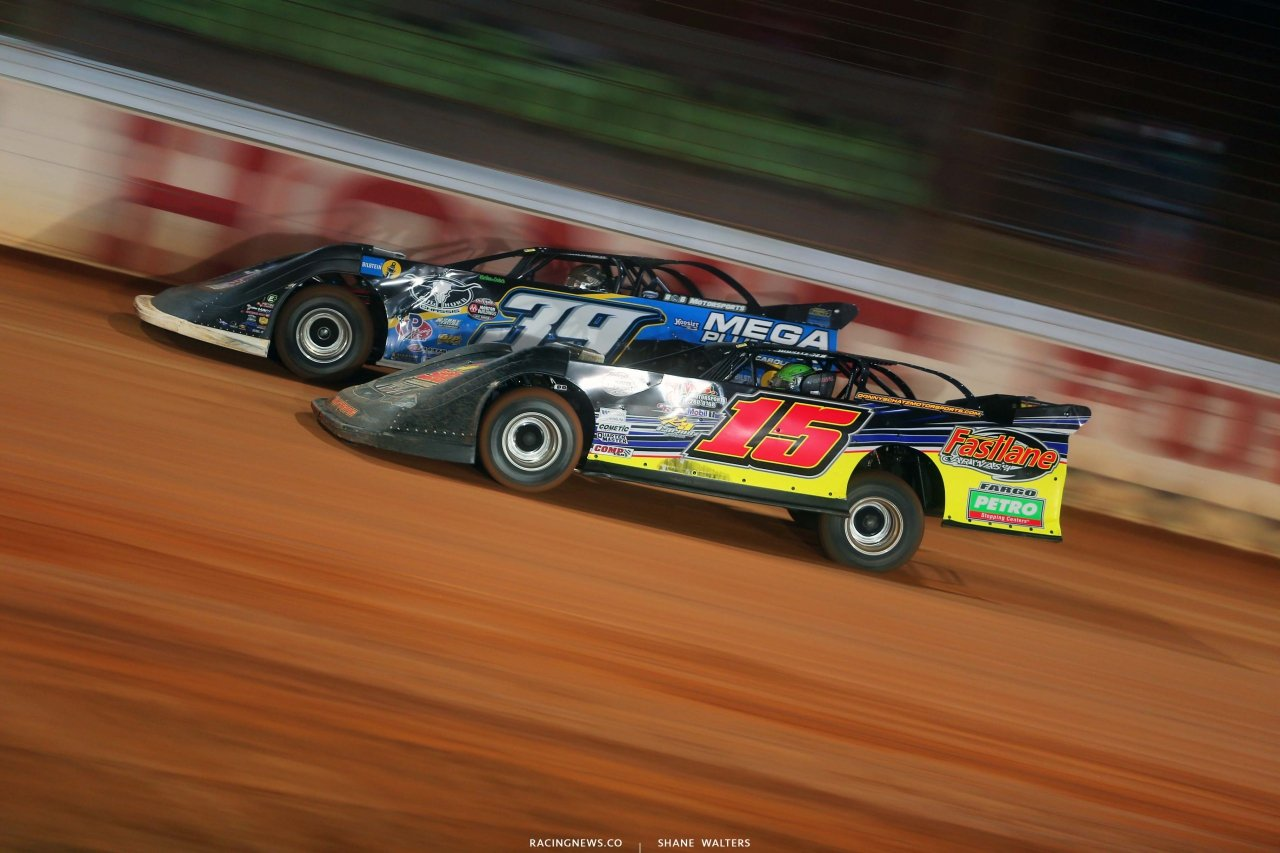 Tim McCreadie and Donny Schatz - Last Call - The Dirt Track at Charlotte - World of Outlaws Late Models - Dirt Late Model 6132