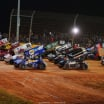 World of Outlaws - Four Wide Salute - The Dirt Track at Charlotte 6907