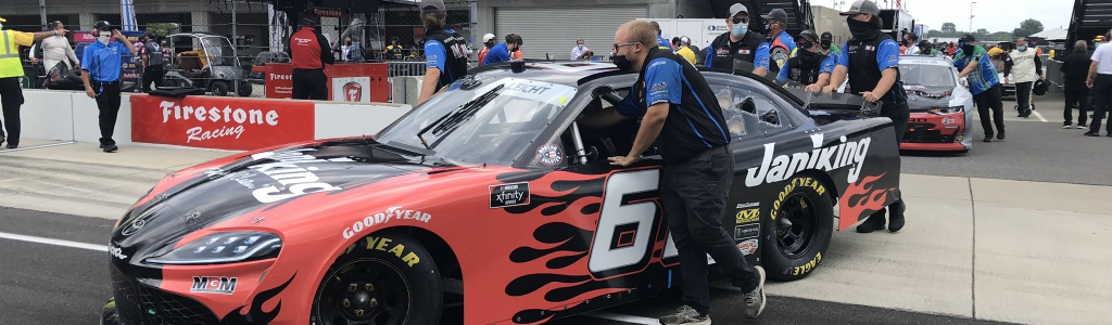 What does it cost to rent full-time NASCAR Xfinity Series ride?