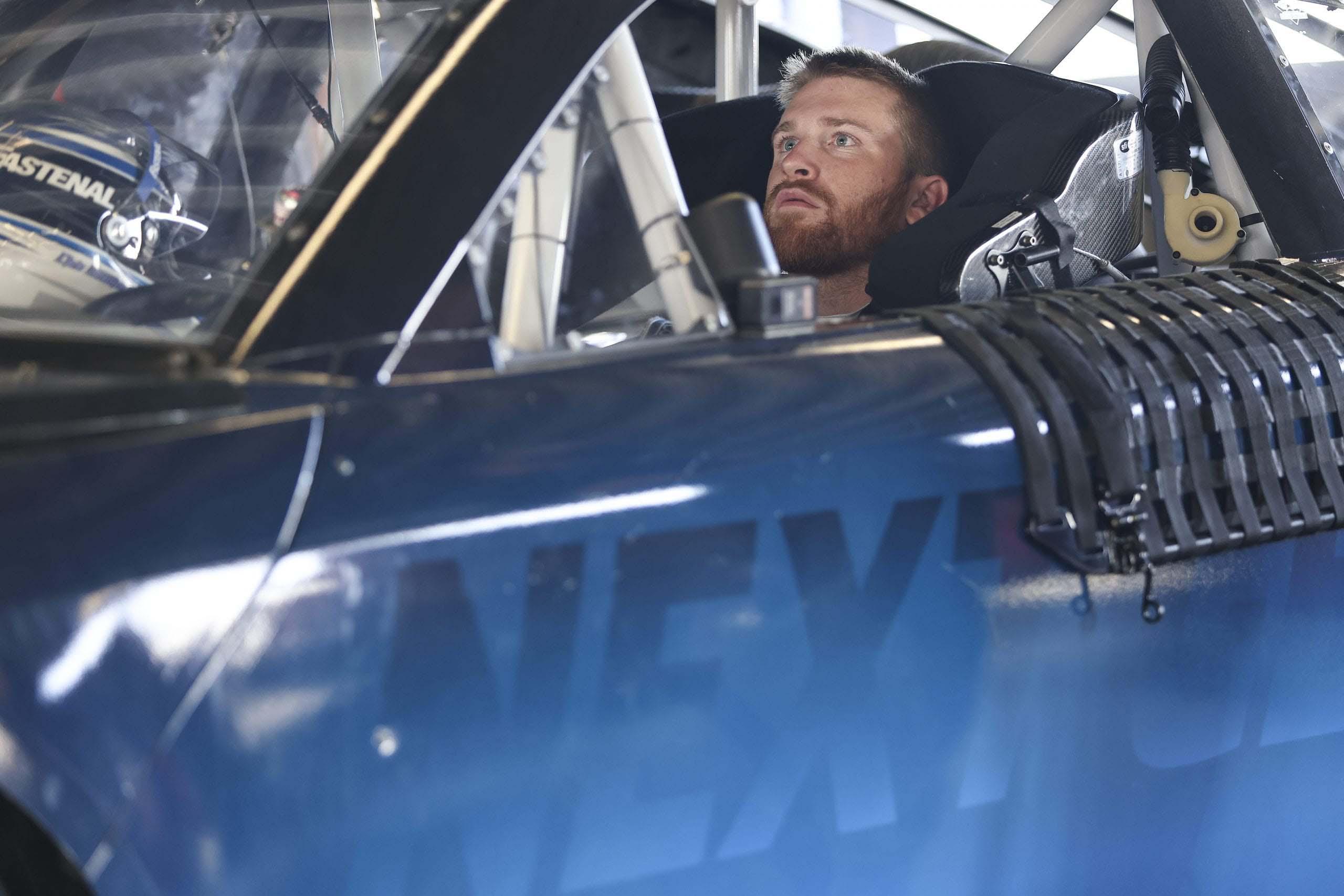 Chris Buescher - NASCAR Next Gen Test