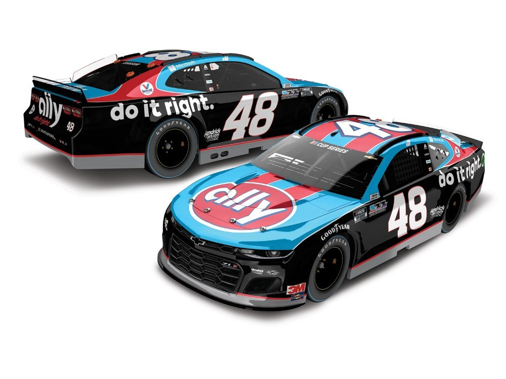 Jimmie Johnson - Darlington throwback to Earnhardt and Petty
