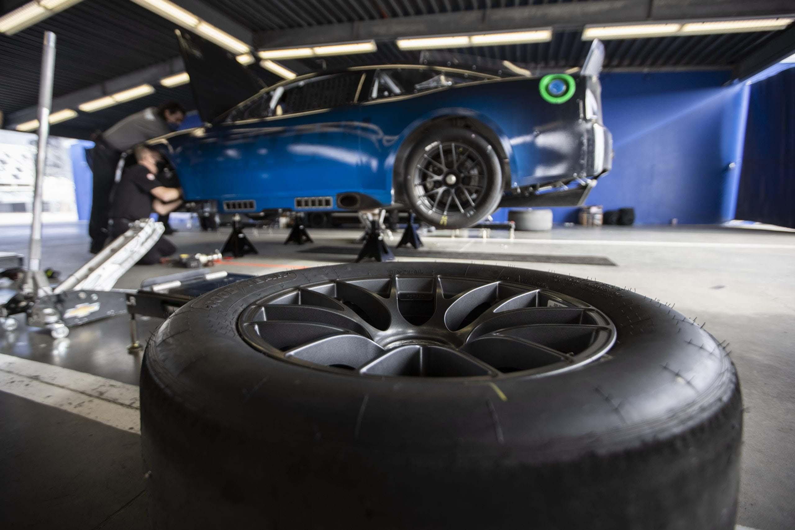 NASCAR Next Gen chassis development