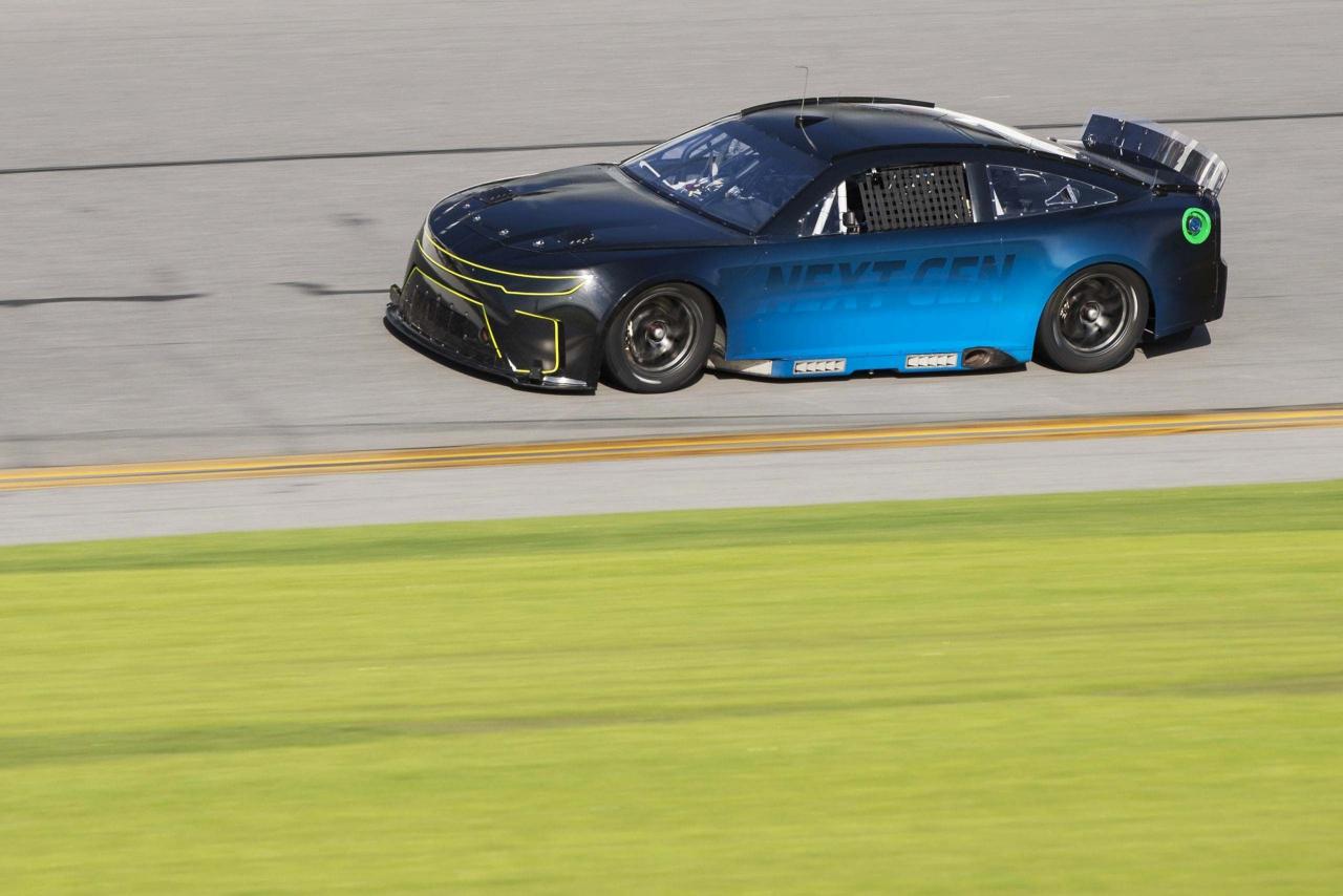 Next Gen testing at Daytona International Speedway - NASCAR Cup Series