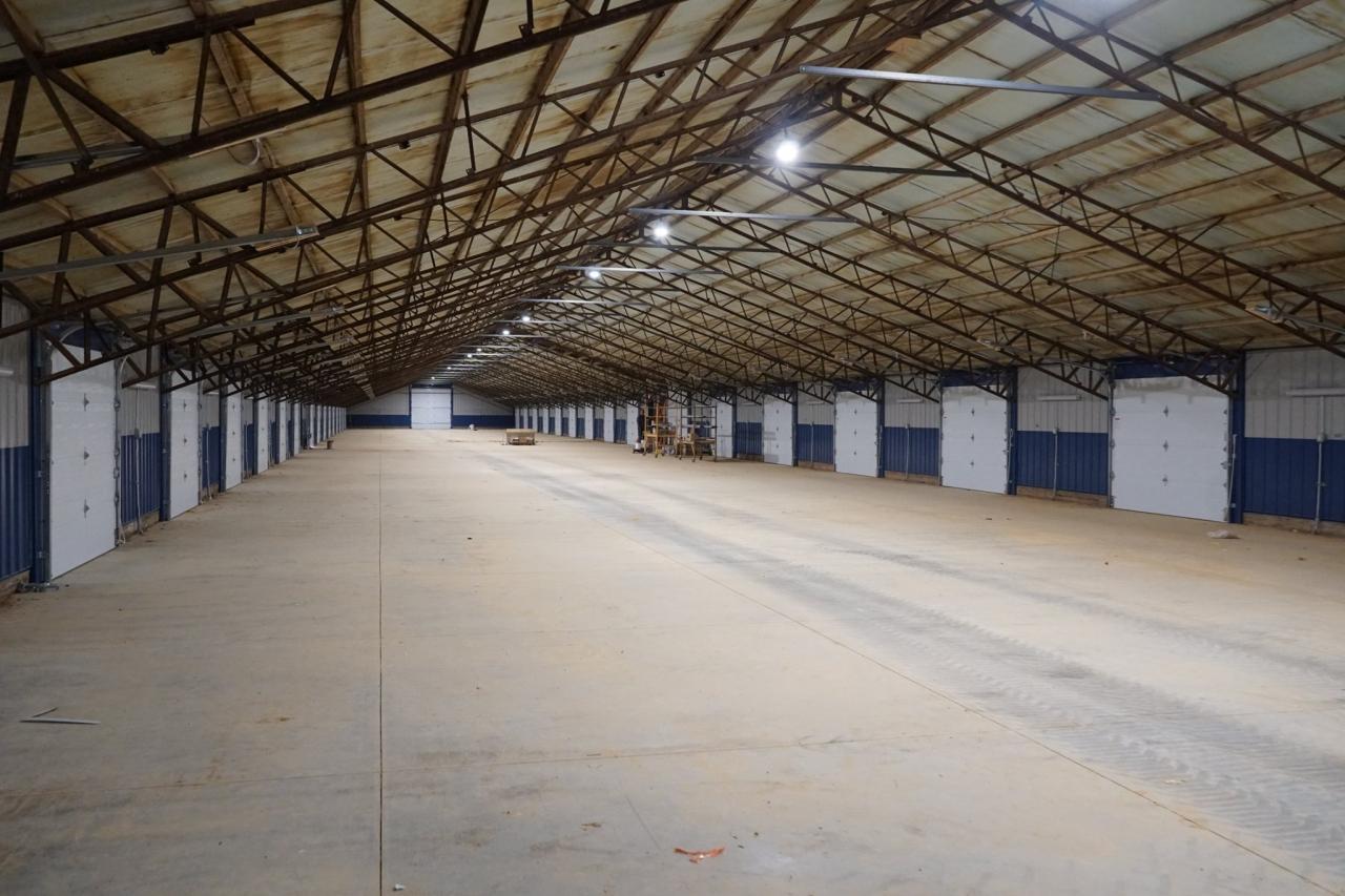 Ozarks International Raceway - Garage